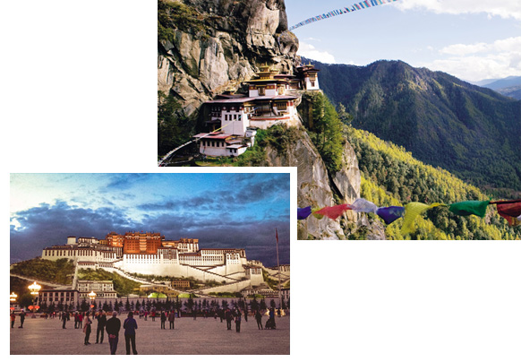 The Enigmatic Kingdoms of Tibet, Nepal and Bhutan