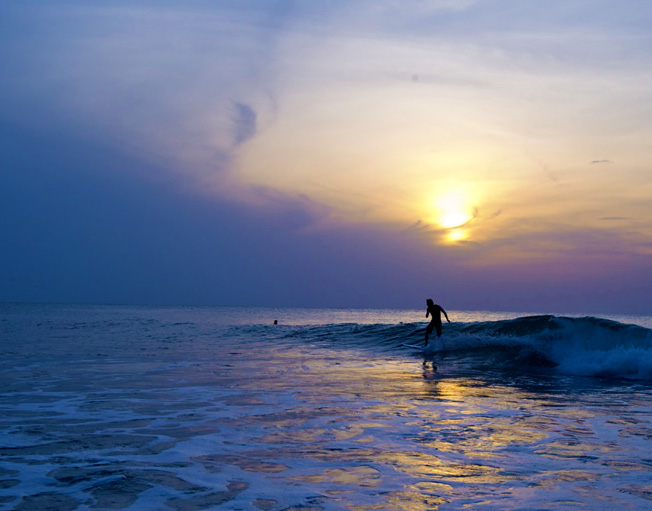 Paddle Out into the Sea